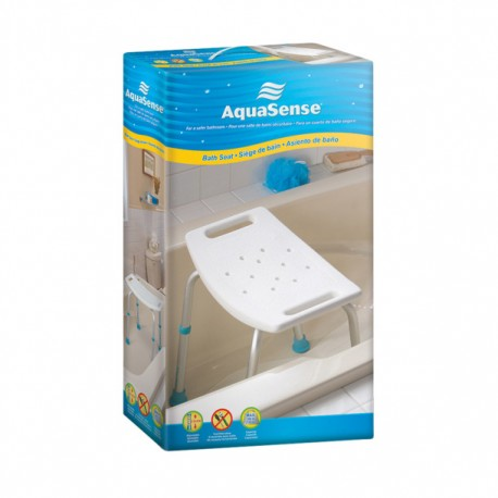 AquaSense Adjustable Bath Seat without Backrest